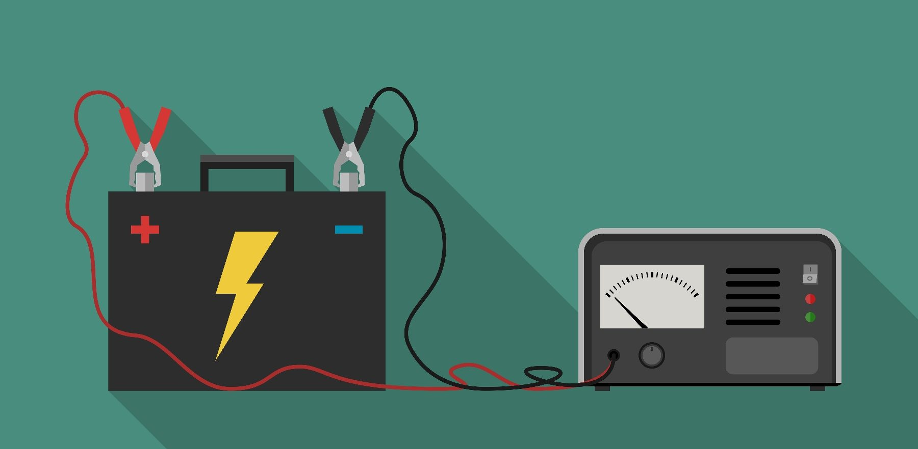 how to find a draw on a car battery